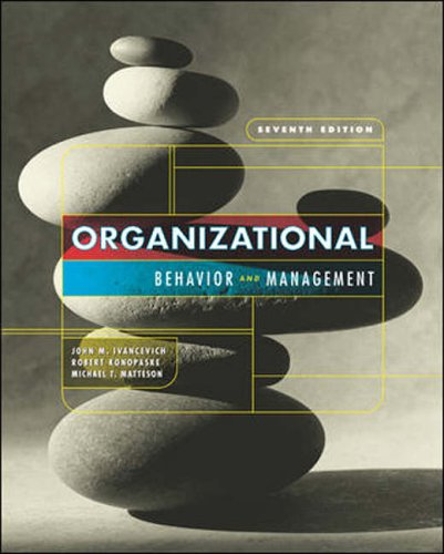 9780071115322: Organizational Behavior and Management: With Olc and Powerweb Card