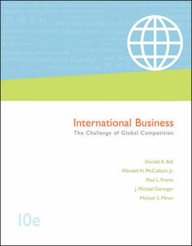 9780071115568: International Business: With World Map, Student CD and CESIM