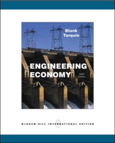 9780071115582: Engineering Economy