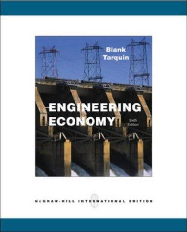 9780071115582: Engineering Economy