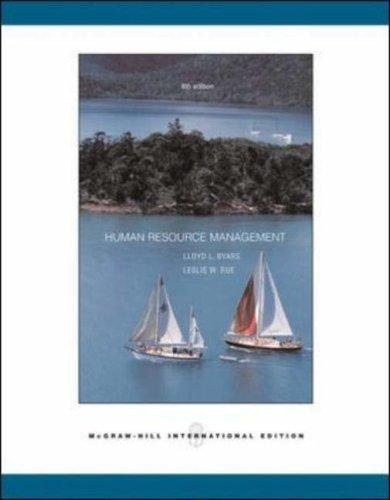 9780071115612: Human Resource Management