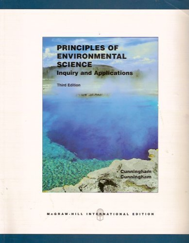 9780071115742: Principles of Environmental Science (International Edition)
