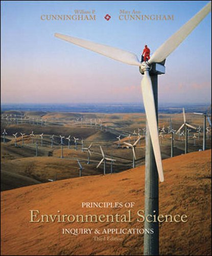 Principles of Environmental Science: With Online Learning: Cunningham, William and