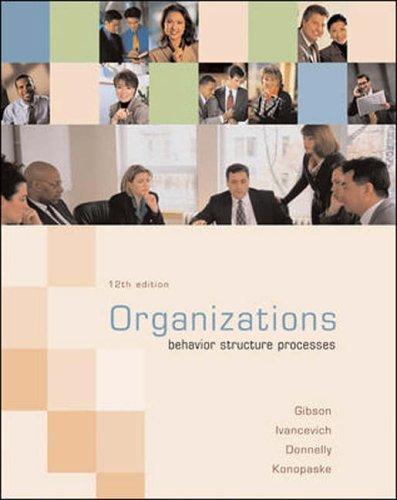 Organizations: Gibson, James L.,