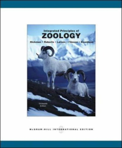 9780071115933: Integrated Principles of Zoology