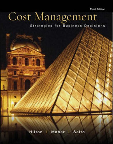 9780071115971: Cost Management: Strategies for Business Decisions