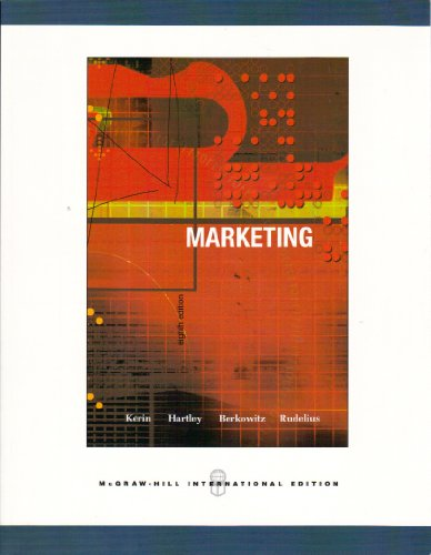 9780071116084: Marketing (International Edition) Edition: Eighth
