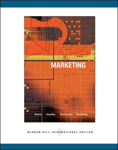 9780071116091: Marketing