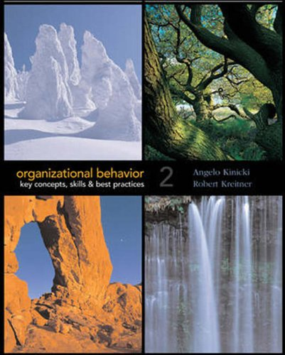 9780071116114: Organizational Behavior: Key Concepts, Skills and Best Practices
