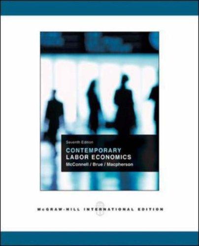 9780071116213: Contemporary Labor Economics