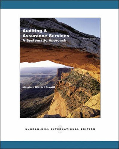 9780071116237: Auditing and Assurance Services