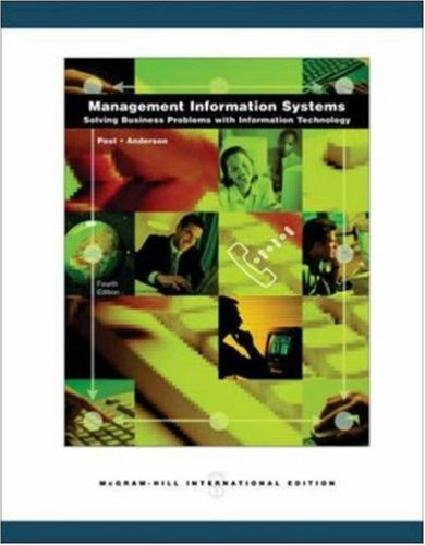 9780071116381: Management Information Systems