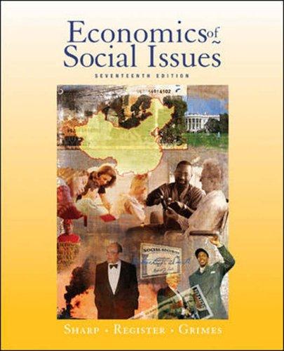 9780071116541: Economics of Social Issues