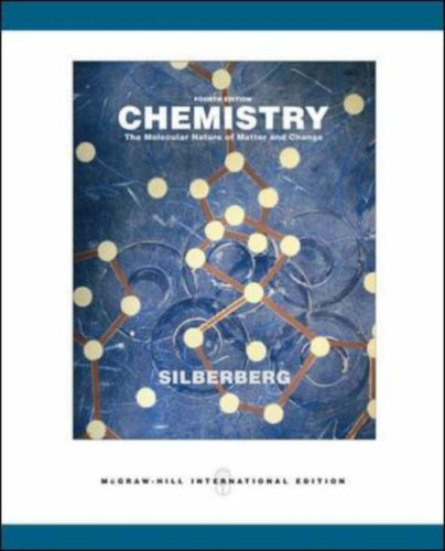 9780071116596: Chemistry: WITH Online Learning Center Password Card: The Molecular Nature of Matter and Change