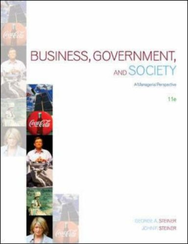 9780071116657: Business, Government and Society: A Managerial Perspective