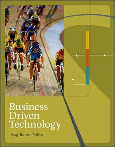 9780071117029: Business Driven Technology