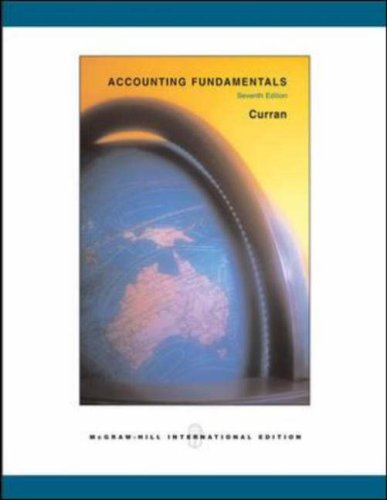 9780071117074: Accounting Fundamentals