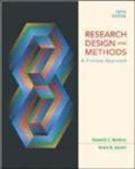 9780071117173: Research Design and Methods: WITH PowerWeb