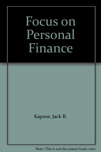 9780071117371: Focus on Personal Finance