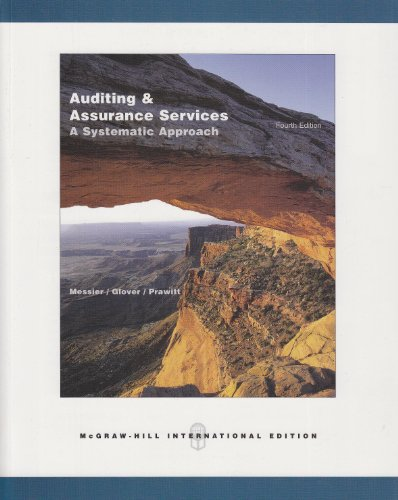 9780071117470: Auditing and Assurance Services: A Systematic Approach with ACL CD and OLC Card