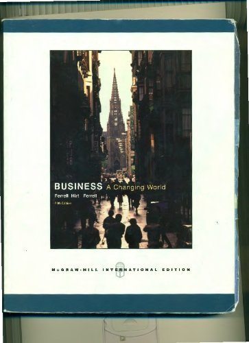 9780071117487: Business: A Changing World
