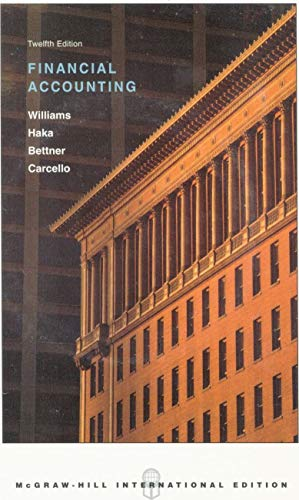 Financial Accounting: With '03 Home Depot Annual: Williams, Jan, Haka,