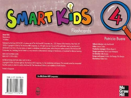 9780071117814: Smart Kids Flashcards 4 (Bk. 4)