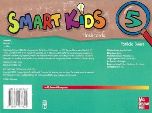 9780071117821: SMART KIDS FLASHCARDS 5: Bk. 5