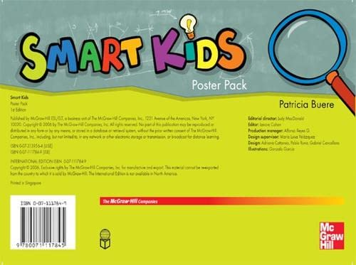 9780071117845: Smart Kids Poster Pack (for All Levels)