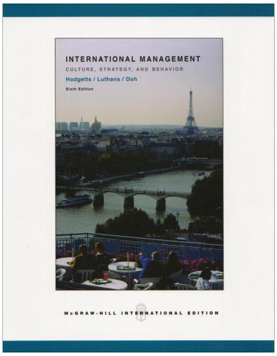 9780071117890: International Management: With Olc Card: Culture, Strategy and Behavior