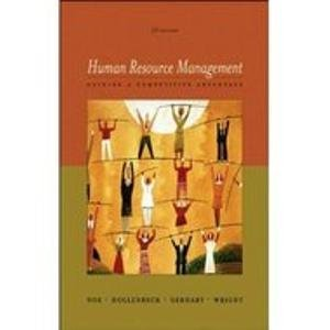 9780071118149: Human Resource Management: Gaining a Competitive Advantage with OLC card