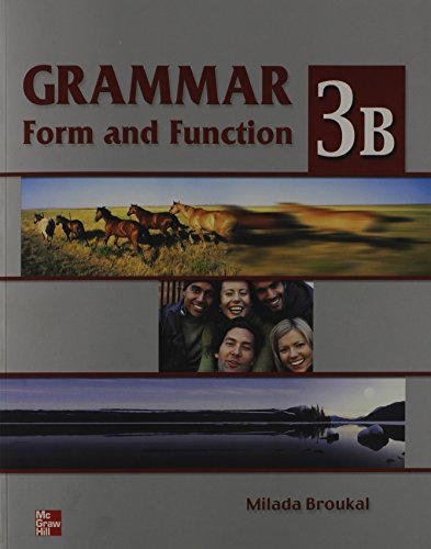 9780071118484: Grammar Form and Function: Split Edition Student Book Level 3b