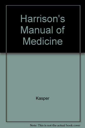 9780071119306: Harrison's Manual of Medicine