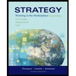 Strategy (9780071119337) by Thompson, Arthur A.