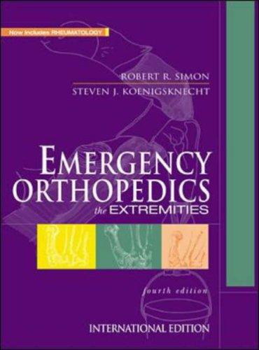 9780071120159: Emergency Orthopedics