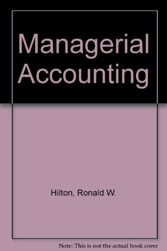 9780071120760: Managerial Accounting
