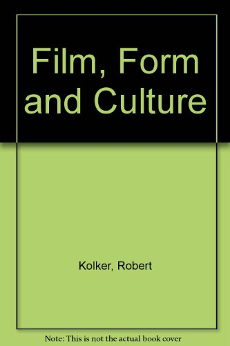 9780071120913: Film, Form and Culture