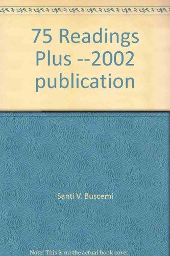 9780071120937: 75 Readings Plus --2002 publication