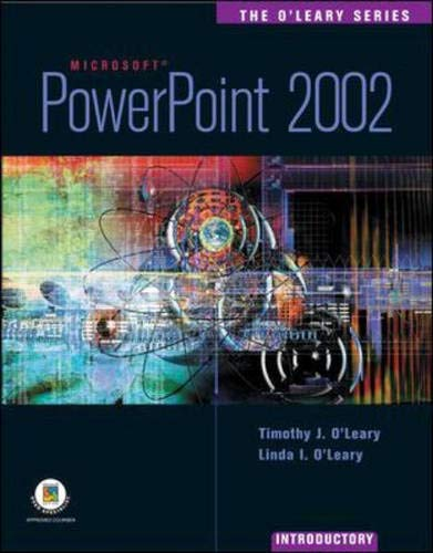 9780071120951: PowerPoint 2002: Introductory Edition (O'Leary Series)