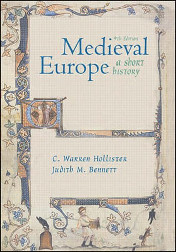 9780071121095: Medieval Europe: A Short History