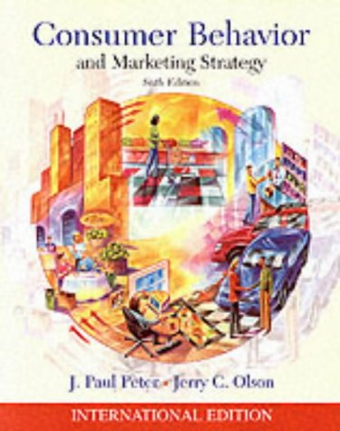 9780071121118: Consumer Behavior and Marketing Strategy (McGraw-Hill/Irwin Series in Marketing)