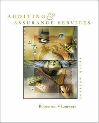 9780071121156: Auditing and Assurance Services