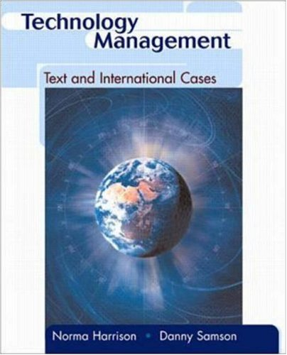 9780071121255: Technology Management: Text and International Cases