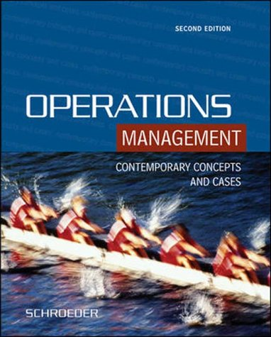 9780071121279: Operations Management : Contemporary Concepts and Cases