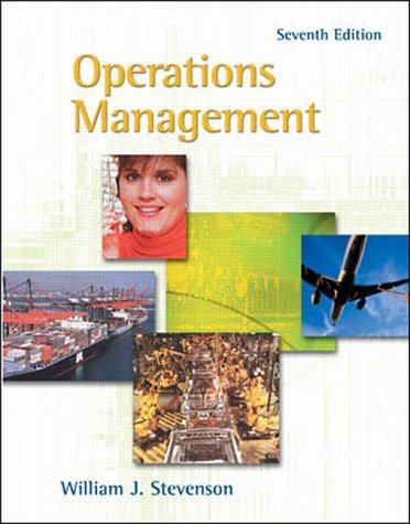 9780071121286: Operations Management (McGraw-Hill International Editions Series)