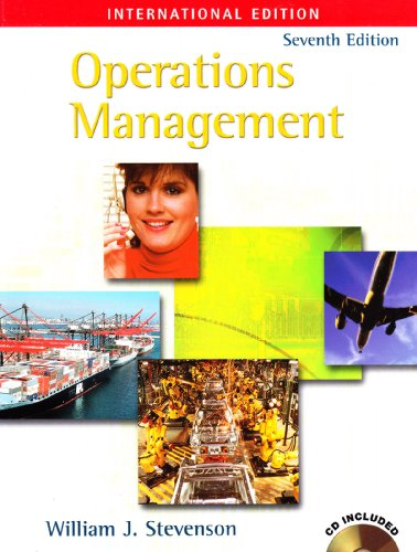 9780071121293: Operations Management