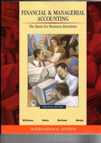 9780071121354: Financial and Managerial Accounting
