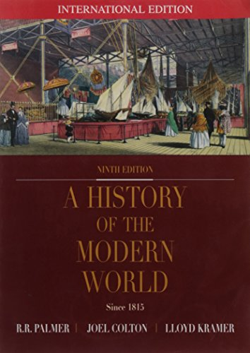 9780071121378: A History of the Modern World Since 1815