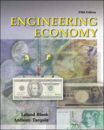 9780071121729: Engineering Economy (McGraw-Hill Series in Industrial Engineering & Management Science)