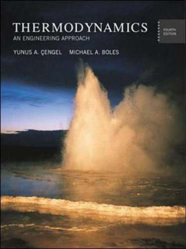 9780071121767: Thermodynamics: An Engineering Approach (Mcgraw-Hill Series in Mechanical Engineering)